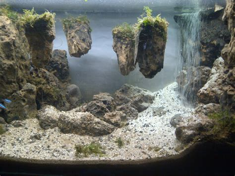 aquascaping stones aquascape waterfall its called strenght of a thousand