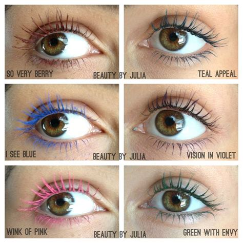 new maybelline colored mascara make up