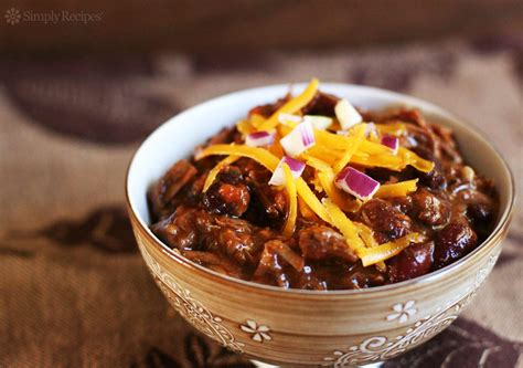cucinare il chili chili con carne recipe simplyrecipes