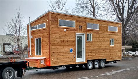 custom tiny house custom tiny house trailer family s custom 32 gooseneck