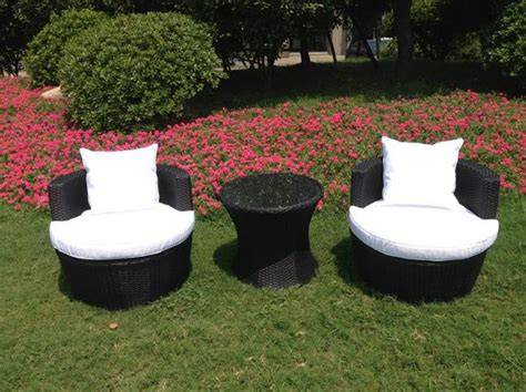Egg Patio Furniture Rattan Effect Egg Patio Furniture Set Rattan Effect Garden Furniture Rattan And Wicker