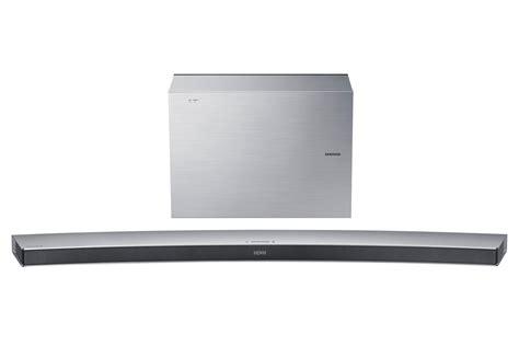 samsung 55 bluetooth 55 quot curved wireless bluetooth smart soundbar silver samsung support uk