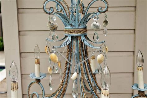 Shabby Chic Style 3454 by 102 Best Seashell Chandelier Images On