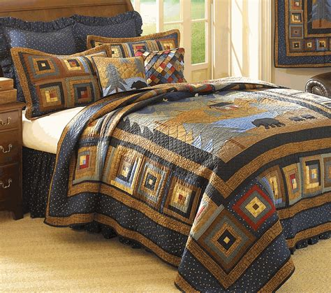 bear comforter midnight bear bedding