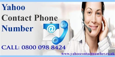 yahoo email phone number get resolve yahoo mail issues via calling 0800 098 8424