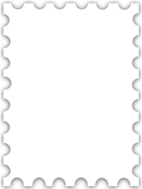 postage stamp template  clipart