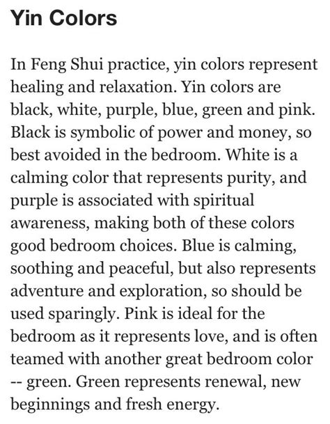 feng shui bedroom tips pin by eclectic root on color feng shui pinterest