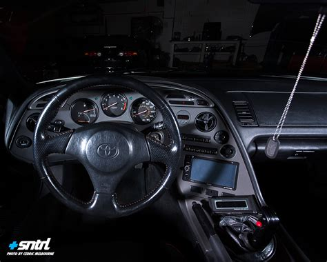 Mk4 Supra Interior by 187 Built For Sntrl
