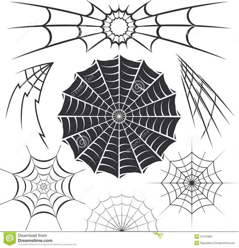 pattern web clips spider webs designs