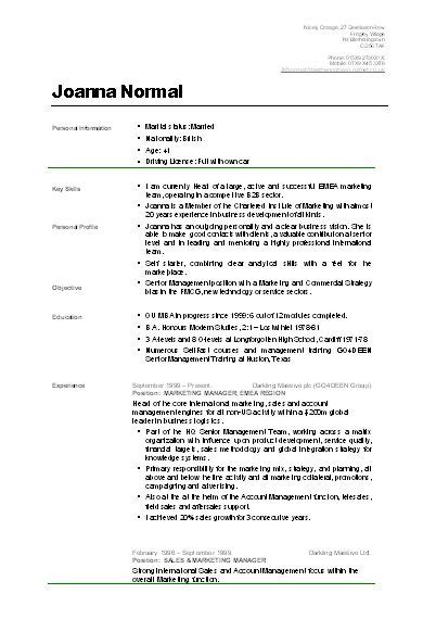 cv format for students pinterest the world s catalog of ideas