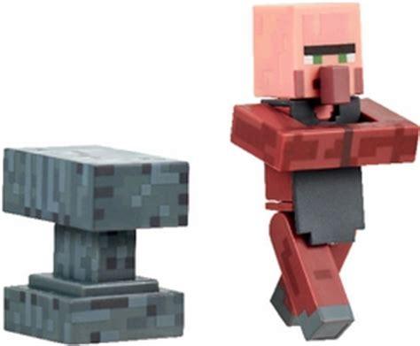 Minecraft Figure Villager villager blacksmith figure overworld minecraft jazwares