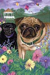 pug flags pugs dogbreed gifts pug flags outdoor decoration