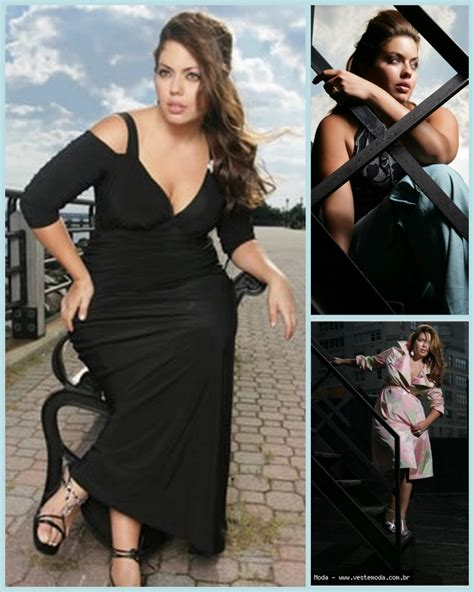 Dress Kid Doroty Sabri Birumuda plus size model fluvia lacerda gets up and personal the curvy fashionista