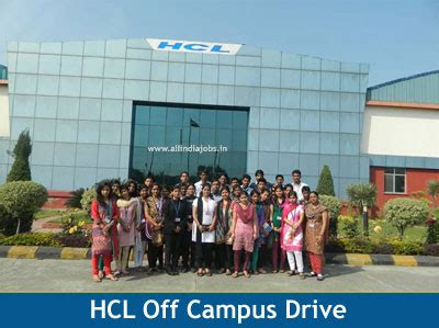 Hcl Mba by Hcl Cus 2018 Drive For Freshers