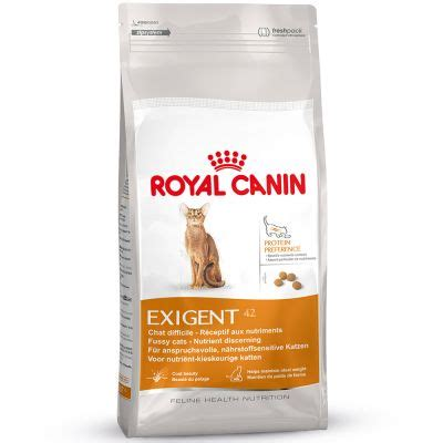 Royal Canin 2 Kg Cat Exigent 42 Protein Preference 1 royal canin exigent 42 nutrition croquettes pour chat zooplus
