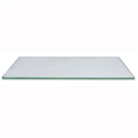shop gt 600mm x 200mm tempered glass shelves box of 10