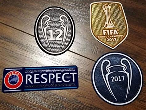Logo Patch Woven Emblem Club Bola Real Madrid compare price patch real madrid chions on statementsltd