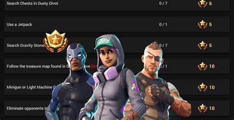 fortnite week 5 challenges fortnite season 4 week 5 challenges leaked
