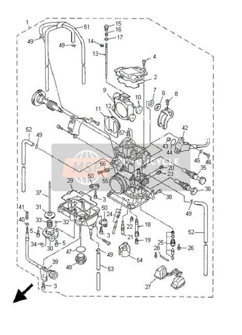 Sparepart Yamaha Yz yamaha yz426f 2001 spare parts msp