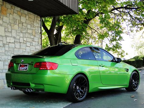 java green bmw individual java green bmw e92 m3 up for sale autoevolution