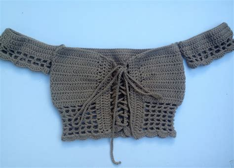 top pattern pinterest crochet patterns galore off the shoulder crop top