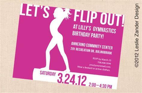 printable gymnastics birthday invitation by madeline lewis 36 best gymnastics party images on pinterest