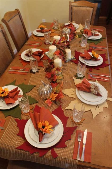 1000 ideas about fall dining table on fall