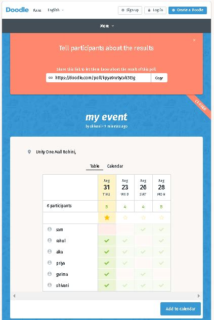 create poll doodle doodle poll review how to schedule events meetings with