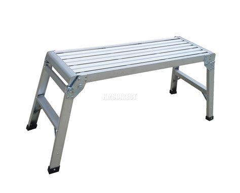 stepper bench new big 150kg folding step hop up aluminium work platform