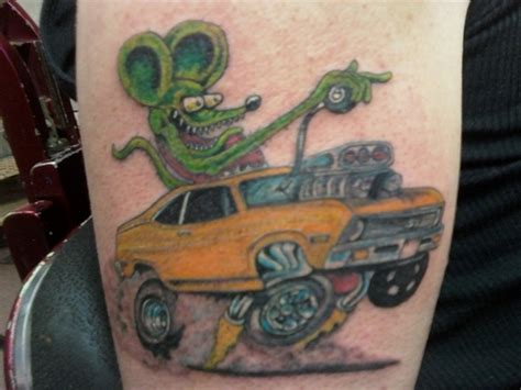 rat fink tattoo designs trav s rat fink picture at checkoutmyink