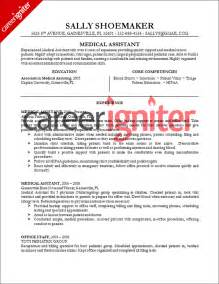 medical assistant resume sample resume pinterest