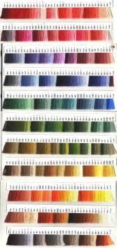dmc floss colors stitchers paradise color cards