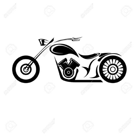 clipart  motorcycles google search disegni