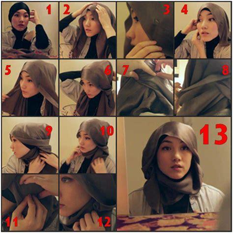 tutorial jilbab najwa tutorial hijab 1 jilbab cantik hijab style kerudung