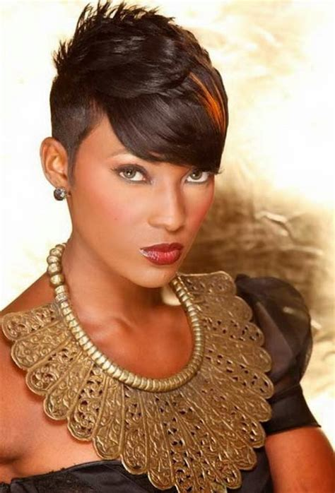 short hairstyles african hair short black hair styles 2016