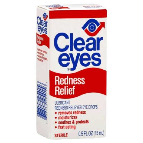clear eyes cooling comfort eye drops clear eyes patient information description dosage and