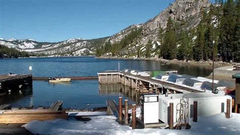 boat launch r echo lake boat launch and marina tahoe area youtube