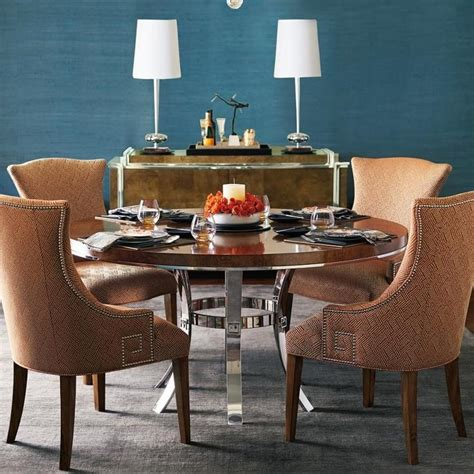 formal dining room sets bernhardt furniture normandie bernhardt soho luxe dining room group with 4 upholstered