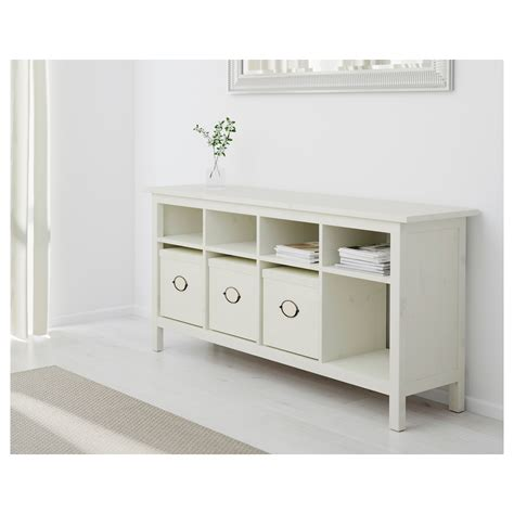 ikea white and wood dresser hemnes console table white stain 157x40 cm ikea