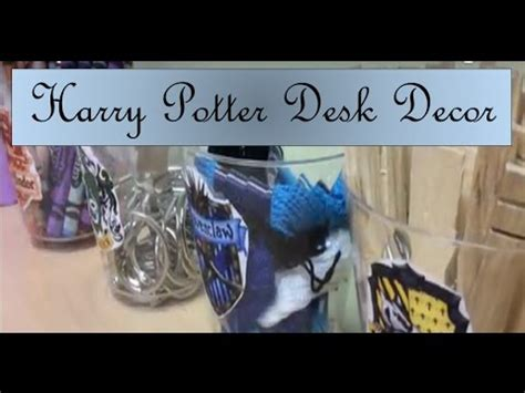 harry potter desk decor harry potter diy desk decor