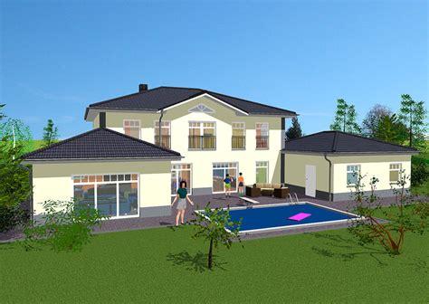 Villa Bauen Lassen by Stadtvilla Mediterran Mit Garage Emphit