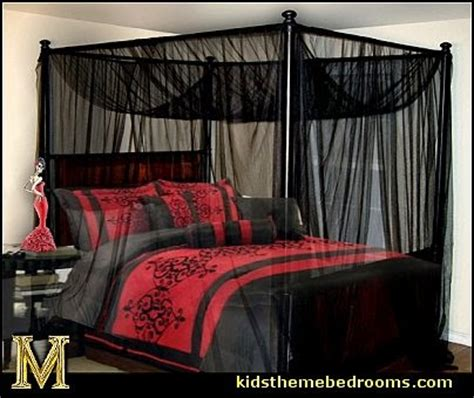 gothic canopy bed decorating theme bedrooms maries manor gothic style bedroom decorating ideas