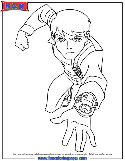 Free Ben Mummy Coloring Pages Ben Ten Coloring Pages