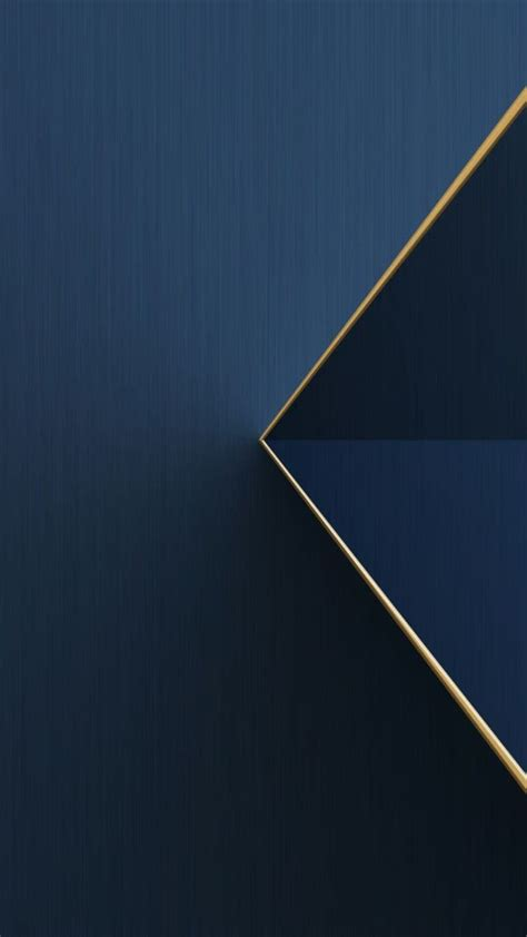 blue  gold trim wallpaper abstract  geometric