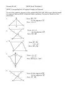 proving triangles congruent worksheet answer key proving