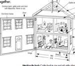 woodwork  dollhouse blueprints  plans