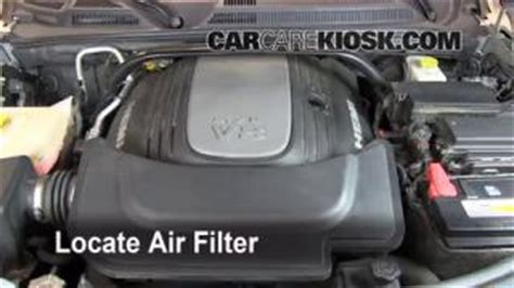 Jeep Commander Cabin Air Filter by Filter Change Jeep Commander 2006 2010 2008 Jeep