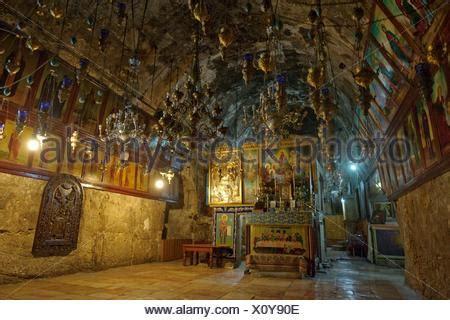 garten gethsemane ltd grab der magdalena jerusalem stockfoto bild