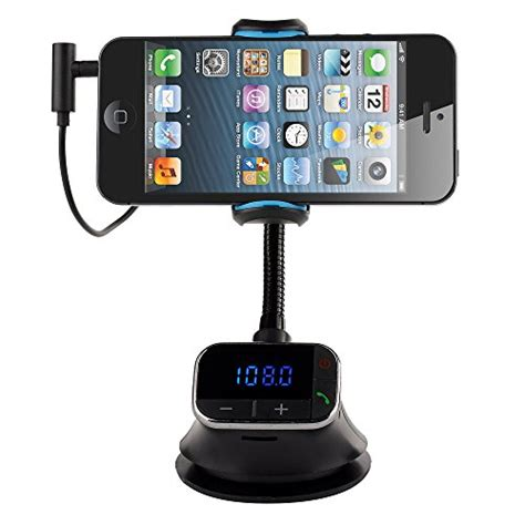 Handfree Iphone 4 5 6 Kw by Victsing Smart Holder Free Car Kit Charger Mp3 Fm
