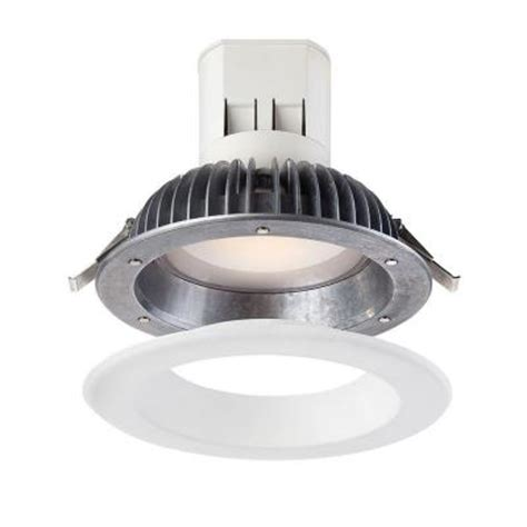 home depot can lights envirolite easy up 6 in warm white led 91 cri recessed
